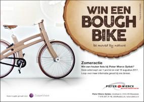 Pieter's houten fiets